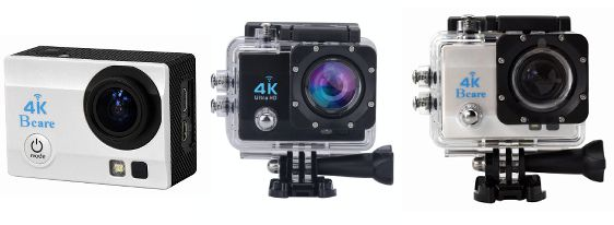 BCare BCam x3 ActionCam Murah Video 4k