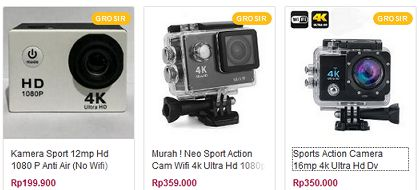 Review Action Sport Cam Resolusi UltraHD 4k Termurah