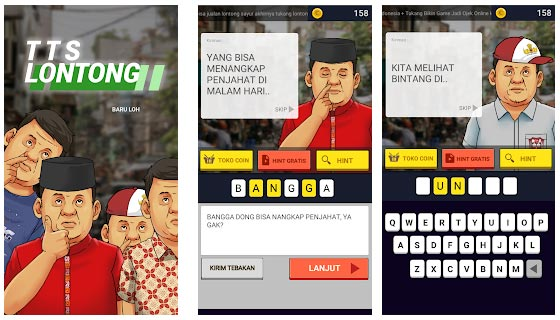 Game Android TTS Lontong