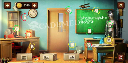 Kunci Jawaban 100 Doors Game Escape from School Level 33