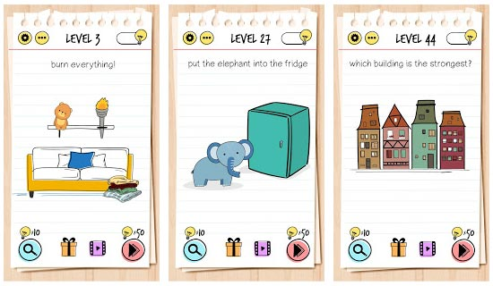 Game Brain Test: Tricky Puzzles