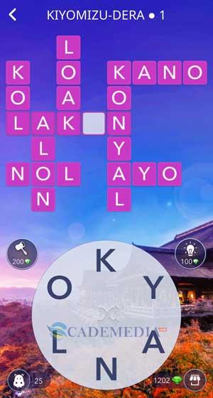 Kunci Jawaban Wow Kiyomizu-Dera 1
